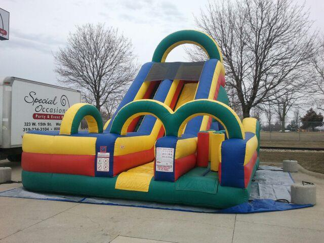 Where to find Inflatable - Slide 18  Obstacle in Waterloo