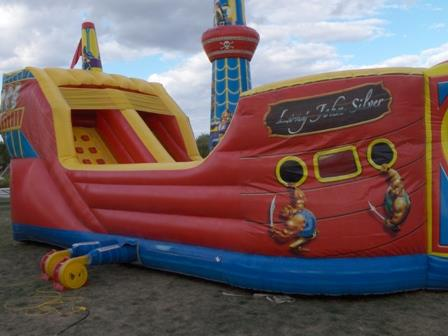 Where to find Inflatable - Pirate Ship Obstacle Bounce in Waterloo