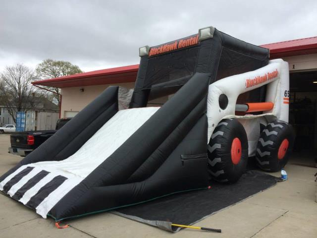 Where to find Inflatable - Skidloader in Waterloo