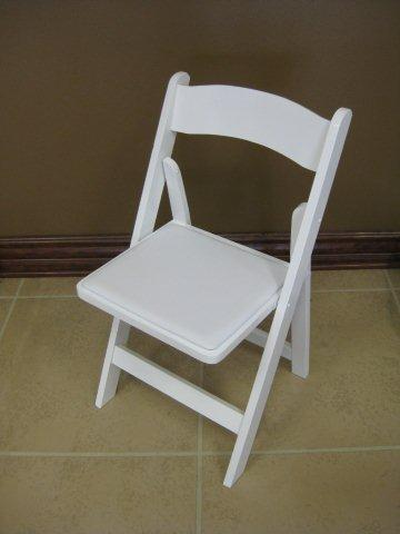Where to find Chair - Padded White in Waterloo