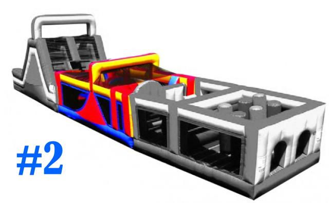 Where to find Inflatable - Mega Obstacle 2 in Waterloo