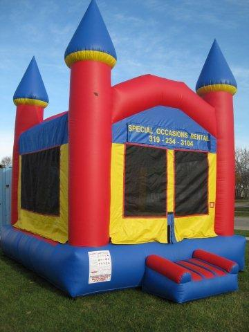 Where to find Inflatable - Funhouse Castle 15x14 in Waterloo