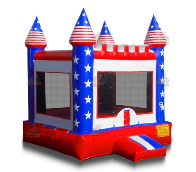Where to find Inflatable - Patriotic Castle in Waterloo