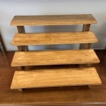 Rental store for Cupcake Stand - Wood Riser, light in Waterloo IA