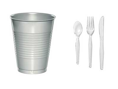 Rent Retail Bowls, Cutlery & Drinkware