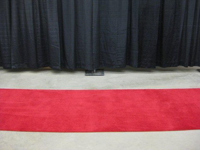 Runner carpet red 4 foot x 28 foot rentals Waterloo IA | Where to